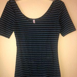 Striped skinny top